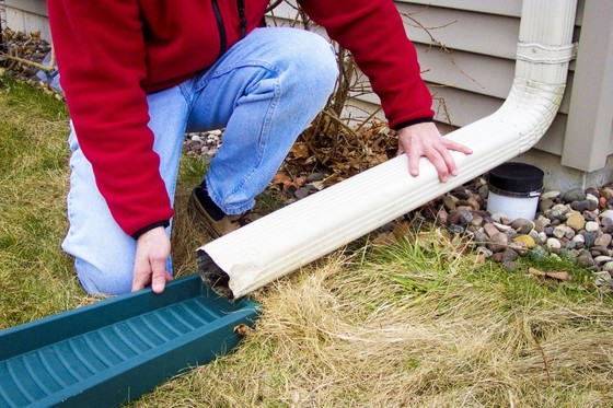 Downspout Disconnection An Effective Easy To Implement