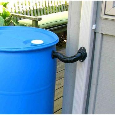 Rain Barrel using a Rain Brothers diverter